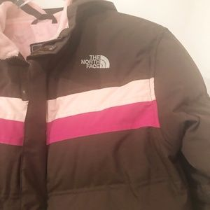 THE NORTH FACE GOOSE DOWN FLEECE LINED JACKET